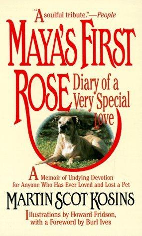 Maya's first rose by Martin Scot Kosins