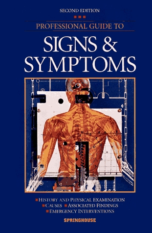 professional guide to signs and symptoms