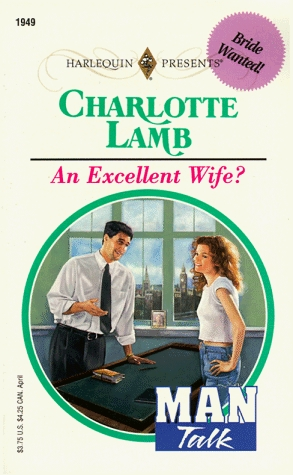 Free ↠ An Excellent Wife?  By Charlotte Lamb – Plummovies.info