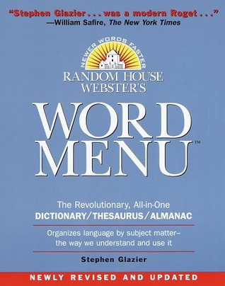 Random House Word Menu: New and Essential Companion to the ...