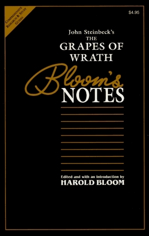 John Steinbeck's The Grapes of Wrath (Bloom's Notes)