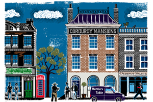 Corduroy Mansions (Corduroy Mansions, #1)