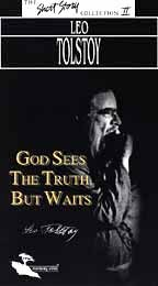 god sees the truth but waits 3 essay Analyzes the literary content of the book 'god sees the truth, but waits,' by leo tolstoy consideration of the narrative in the light of the implications suggested by the structure of the plot to understand the story juxtaposition of two significant events in the life of the protagonist symmetry governing the narration of the climactic events.