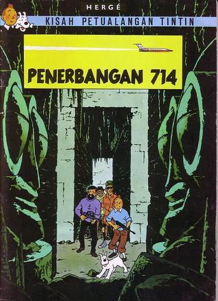 Penerbangan 714 by Hergé