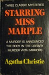 Three Classic Mysteries Starring Miss Marple: A Murder is Announced /The Body in the Library / Murder With Mirrors