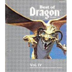 Best of Dragon Magazine, Vol. IV