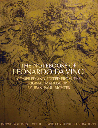 the notebooks of leonardo da vinci vol 2 by jean paul. Black Bedroom Furniture Sets. Home Design Ideas
