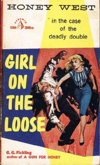 Girl on the Loose by G.G. Fickling