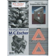 Impossible Worlds: Four Books in One -- Bruno Ernst and M.C. Escher