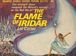 The Flame of Iridar by Lin Carter