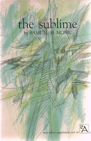 The Sublime by Samuel H. Monk