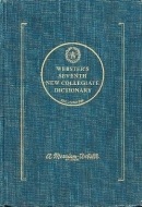Websters Seventh New Collegiate Dictionary: Based on Websters Third New International Dictionary