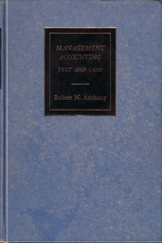 Management accounting text and cases by robert n anthony 3029046 fandeluxe Gallery