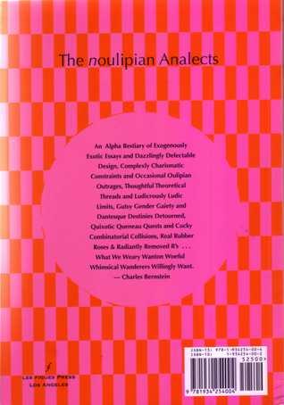 The noulipian Analects by Christine Wertheim