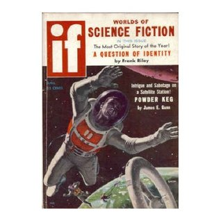 IF Worlds of Science Fiction, 1958 April (Volume 8, No. 3)