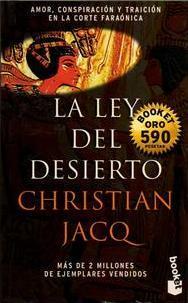 La ley del desierto by Christian Jacq