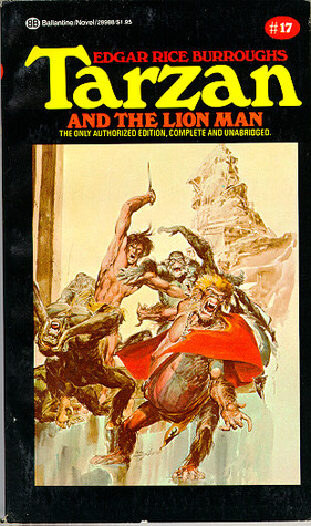 Tarzan and the Lion Man (Tarzan, #17)