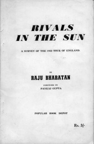 Rivals in the Sun A Survey of the 1952 Tour of England
