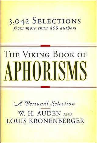 Viking Book of Aphorisms