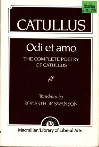 Catullus: The Complete Poetry of Catullus