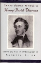 Great Short Works of Henry David Thoreau
