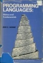 Programming Languages: History and Fundamentals