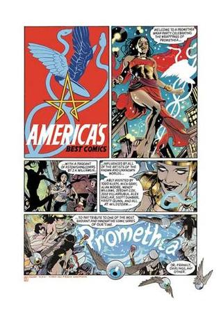 The Promethea Covers Book