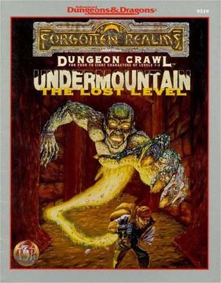 Undermountain by Steven Schend