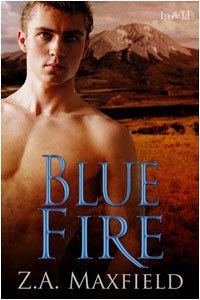Blue Fire by Z.A. Maxfield