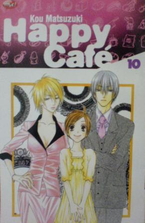 Happy Café, Volume 10 by Kou Matsuzuki