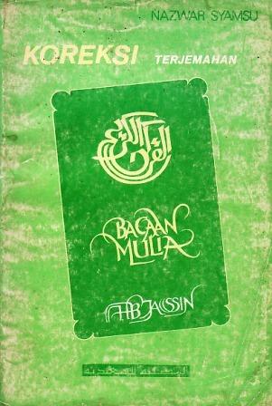 Koreksi Terjemahan Bacaan Mulia H.B. Jassin