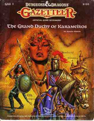 The Grand Duchy of Karameikos (Dungeons and Dragons Gazetteer GAZ1)