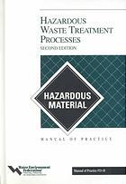 Hazardous Waste Treatment Processes