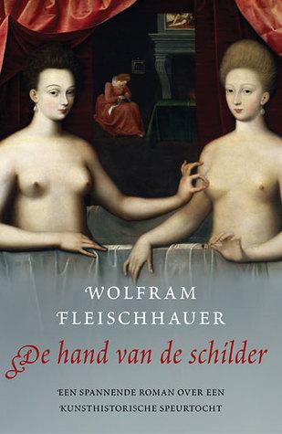 De hand van de schilder