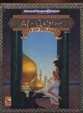 City of Delights (AD&D: Al-Qadim Campaign) [BOX SET]
