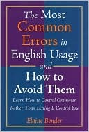 The Most Common Errors in English Usage and How to Avoid Them
