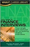 Vault Guide to Finance Interviews