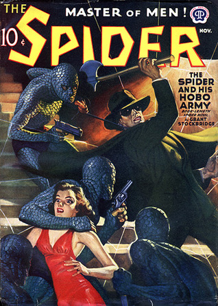 The Spider, Master of Men! #86: The Spider and His Hobo Army