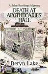Death at Apothecaries' Hall (John Rawlings, #6)