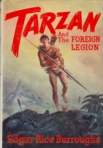 Tarzan and the Foreign Legion (Tarzan, #22)