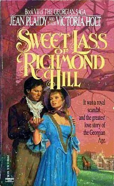 Sweet Lass of Richmond Hill by Jean Plaidy