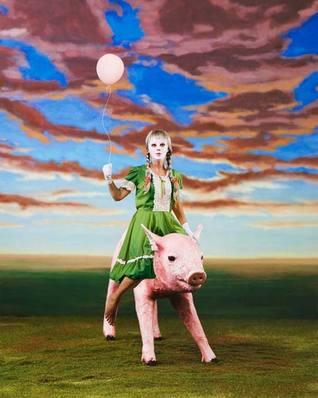 Fondant Pig Angst by Juliet Cook