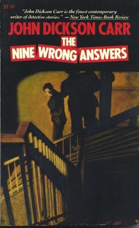 The Nine Wrong Answers