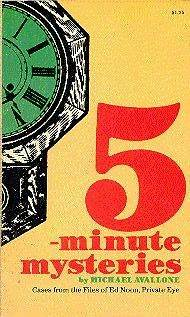 5 Minute Mysteries by Michael Avallone