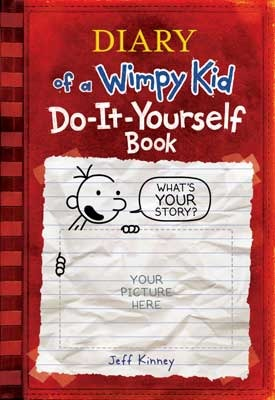 Do it yourself book by jeff kinney do it yourself book diary of a wimpy kid solutioingenieria Gallery