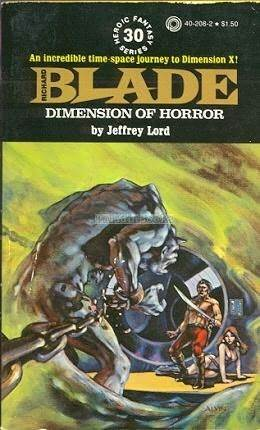 Dimension of Horror (Richard Blade, #30)