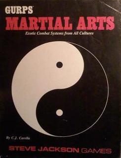 GURPS Martial Arts by C.J. Carella