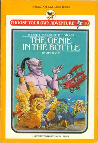 The Genie in the Bottle (Choose Your Own Adventure: Young Readers, #10)