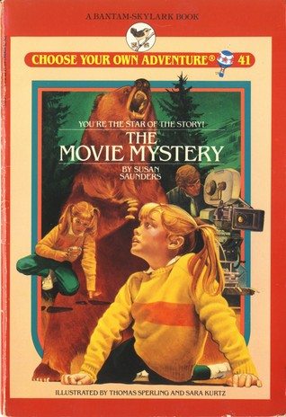 The Movie Mystery (Choose Your Own Adventure: Young Readers, #41)