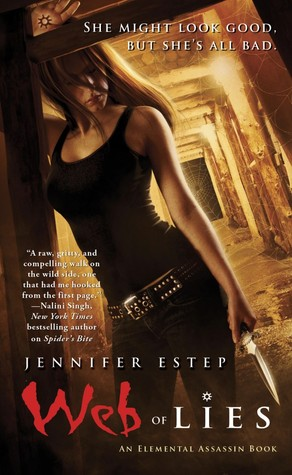 Web of Lies by Jennifer Estep - My Review